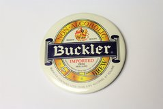 Vintage Buckler Brew Imported from Holland Alcohol Beer Button Pin Liquor Bar Drink Cocktail Mem... in Kingwood, Texas