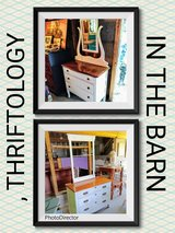 antique tiger oak chalk painted dressers in Cherry Point, North Carolina