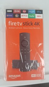 Amazon Fire TV Stick 4k (factory sealed /loaded options) in Okinawa, Japan