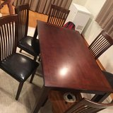 Kitchen Table with 6 chairs in Okinawa, Japan