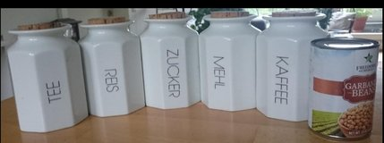 Kitchen Canisters containers in Wiesbaden, GE