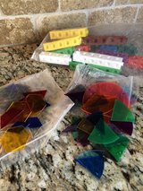 Home School / Teaching - Math Manipulative's Counting Blocks and Fraction Circles in Chicago, Illinois