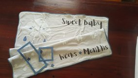 Baby Growth Blanket with frames in Beaufort, South Carolina