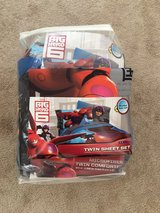 big hero 6 twin bed sheets and comforter in Naperville, Illinois