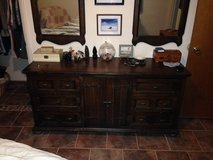 dresser with mirrors and headboard (king) in Alamogordo, New Mexico