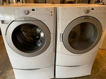 Front load washer and dryer in Kingwood, Texas