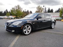Clean 2008 BMW 528i - runs great and reliable in Tacoma, Washington
