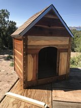 Rustic Red Wood Dog House (Handcrafted) in Alamogordo, New Mexico
