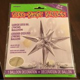 Star-Burst Balloon in Plainfield, Illinois
