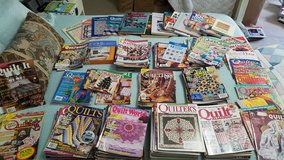 Lot of Quilting magazines, books, and software in Warner Robins, Georgia