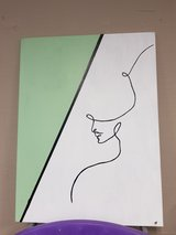 women one line painting for sale! in Ramstein, Germany