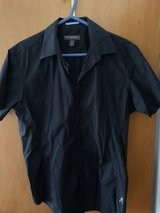 Guess by Marciano short-sleeve shirt, Black, Medium size, Slim fit in Ramstein, Germany