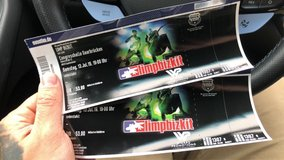 2 Limp Bizkit concert tickets in Ramstein, Germany