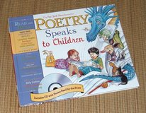 NEW Poetry Speaks to Children HardCover Book 100+ Poems 50 Brought To Life on CD in Oswego, Illinois