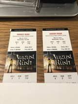 2 August Rush Tickets- Paramount Theatre - May 22, 2019 - 7:00 PM - GREAT SEATS! in Oswego, Illinois