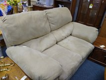 Beige two seat sofa in Glendale Heights, Illinois