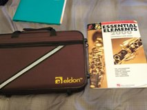 Eldon Clarinet with Case and music book in Alamogordo, New Mexico