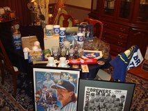 Huge Lot of  MILWAUKEE BREWERS Baseball Collectibles Details & Prices in Brookfield, Wisconsin