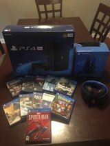 NEW PlayStation 4 Pro With headset and games in Fort Campbell, Kentucky