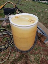 55 gal plastic barrel(REDUCED) in Alamogordo, New Mexico