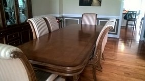 DININGROOM TABLE + MATCHING CHINA CABINET in Quantico, Virginia