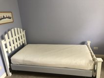 Twin headboard/ footboard in Naperville, Illinois