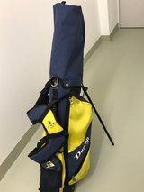 Golf Clubs, Dunlop  (set of 5) with Bag, Fair condition in Wiesbaden, GE