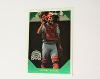 2000 Johnny Bench Reds Catcher Baseball Card Collector's Choice Upper Deck #15 in Kingwood, Texas