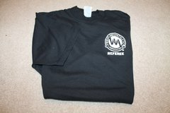 Wheatland Athletic Association Black Short Sleeve Referee Tee - Large in Joliet, Illinois