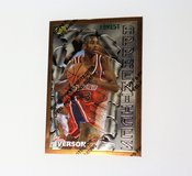 1996 Allen Iverson 76ers Topps Apprentices #69 A23 Basketball Card in Kingwood, Texas