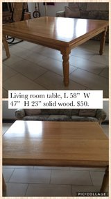 Living Room Table in Spangdahlem, Germany