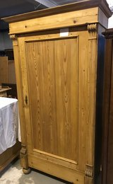 Antique pine armoire in Ramstein, Germany