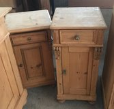 Antique pine, small cabinets in Ramstein, Germany