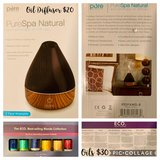 Oil Diffuser and ECO Essential oil collection/BRAND NEW in Okinawa, Japan