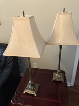 2 Table Lamps in Perry, Georgia