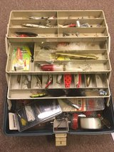 *Reduced* Tackle box filled with vintage lures in Beaufort, South Carolina