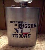 "Brand New ""Everything Bigger in Texas"" Flask in Alamogordo, New Mexico"