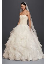 Wedding dress in Los Angeles, California