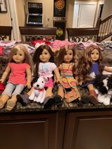 American Girl Dolls, Isabelle, Grace, Lea, Saige, Plus a ton of outfits & accessories available too in Naperville, Illinois