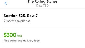The Rolling Stones Concert tickets in Westmont, Illinois