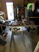 Craftsman 10 inch blade table saw in Joliet, Illinois