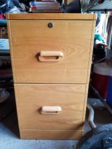 2 wooden file cabinets in Chicago, Illinois