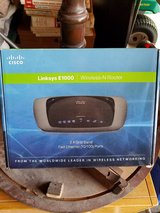 Cisco links e1000 wireless n router in Plainfield, Illinois