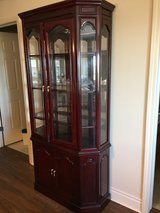 Beautiful Cherry Curio Cabinet - Downtown Des Plaines in Great Lakes, Illinois