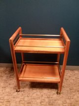 Wood Bar Cart - Downtown Des Plaines in Great Lakes, Illinois