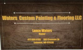Waters Custom Painting and Flooring in Fort Leonard Wood, Missouri