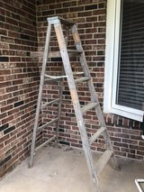 old wooden ladder in Fort Leonard Wood, Missouri