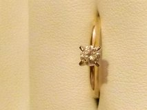Authentic 14k Gold(.24ct) Diamond Engagement Ring in Cincinnati, Ohio