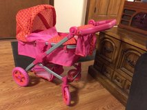 Baby Doll Stroller With Cover and Carry bag in Joliet, Illinois