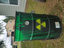 Smoker drum in Beaufort, South Carolina
